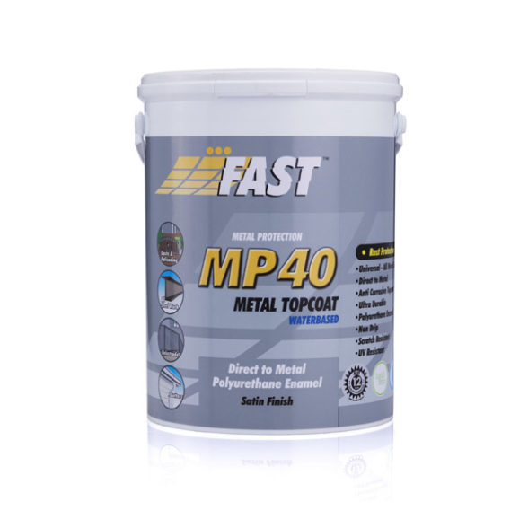 Fast MP40 Water Based Metal Topcoat