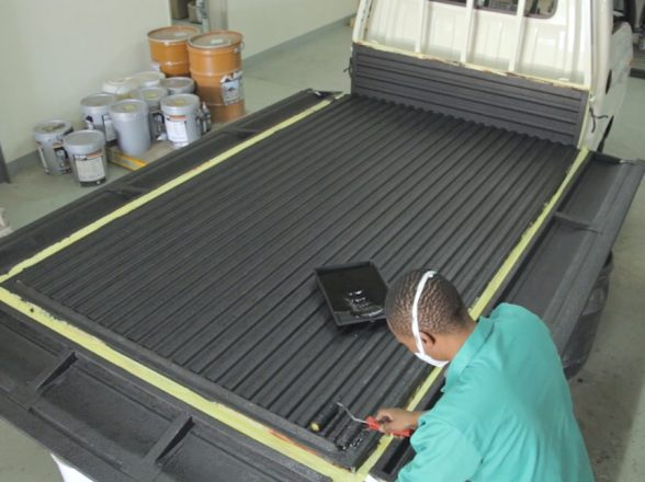 How to rubberise a bakkie loadbed