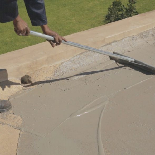 How to waterproof a new concrete slab