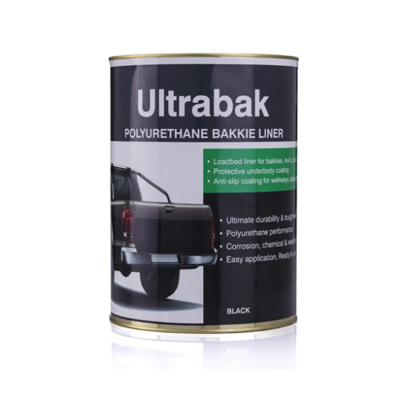 Ultrabak Polyurethane Bakkie-Liner Brush-on